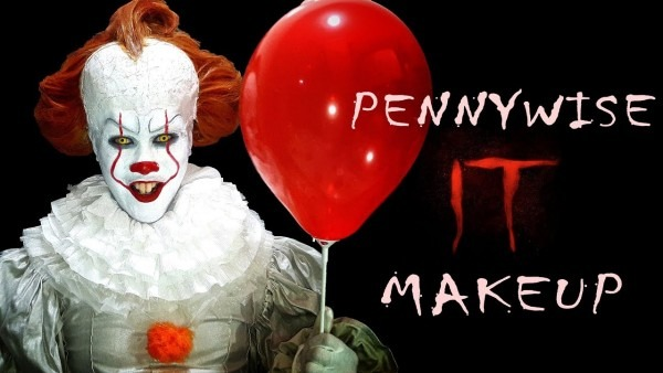 Pennywise (normal Clown Form) Makeup