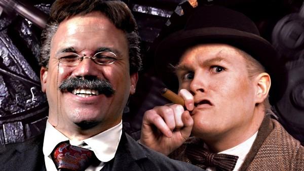Theodore Roosevelt Vs Winston Churchill  Epic Rap Battles Of