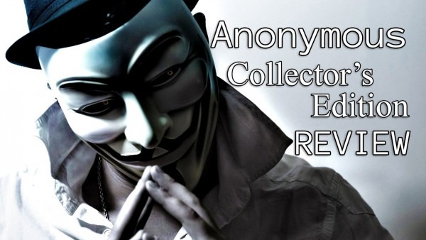 Anonymous V For Vendetta Guy Fawkes Mask Review