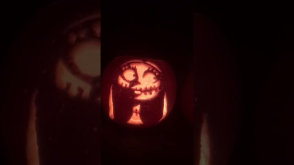 Pumpkin Carving Jack Sally And Zero The Nightmare Before Christmas