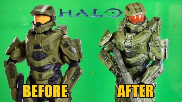 Jakks Pacific Halo Master Chief Figure Makeover
