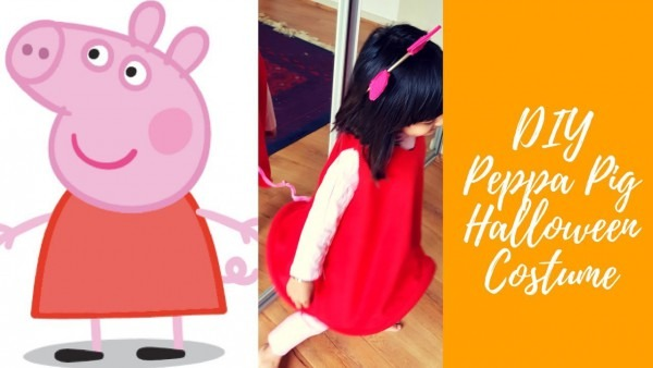 Diy Peppa Pig Halloween Costume