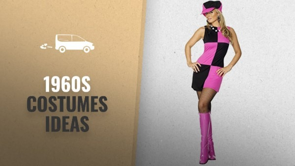 1960s Costumes Ideas For Halloween 2018!  Smiffys Adult Women's