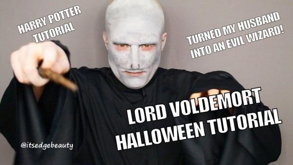 Lord Voldemort Halloween Costume Tutorial