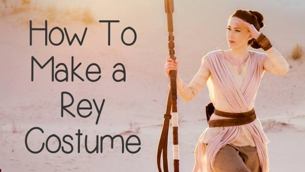 How To Make A Rey Costume (star Wars)