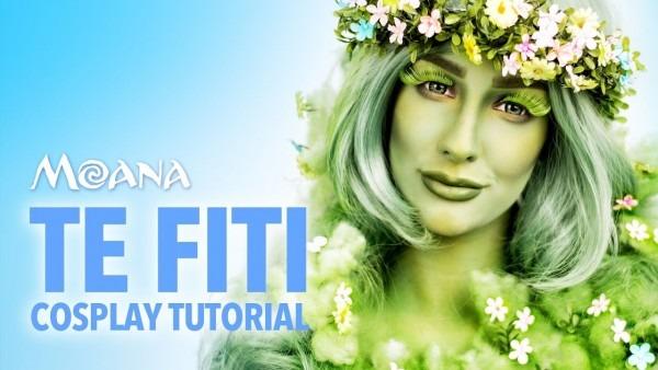 Te Fiti Makeup Tutorial (moana Cosplay)
