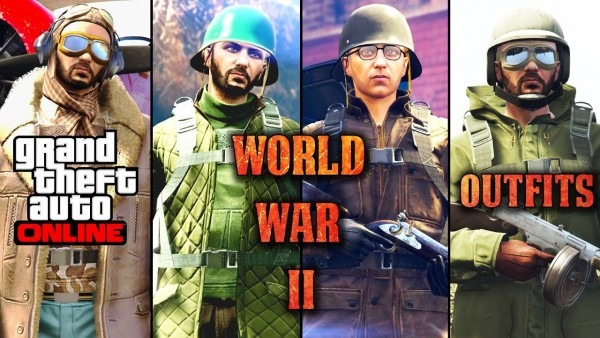 Gta 5 Online   Best World War 2 Outfits  (how To Look Like Ww2