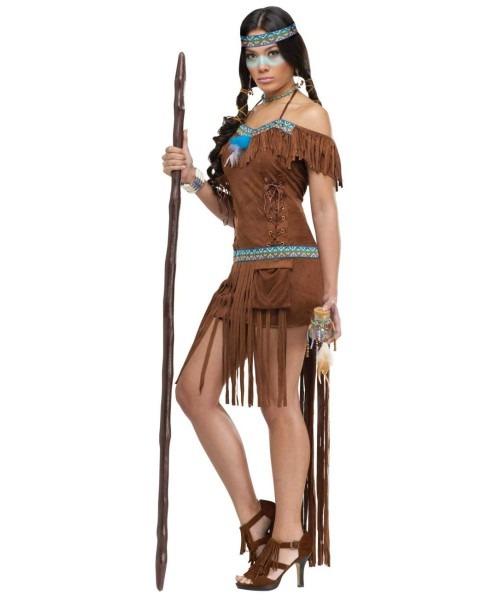 Medicine Woman Indian Costume