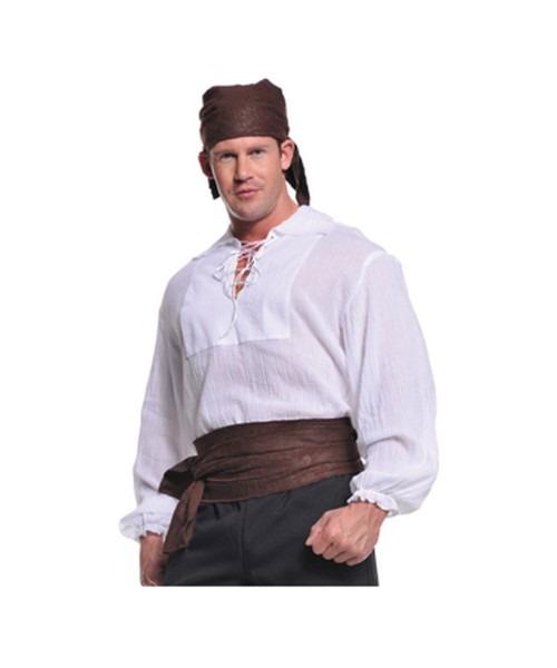 Cream Pirate Mens Shirt