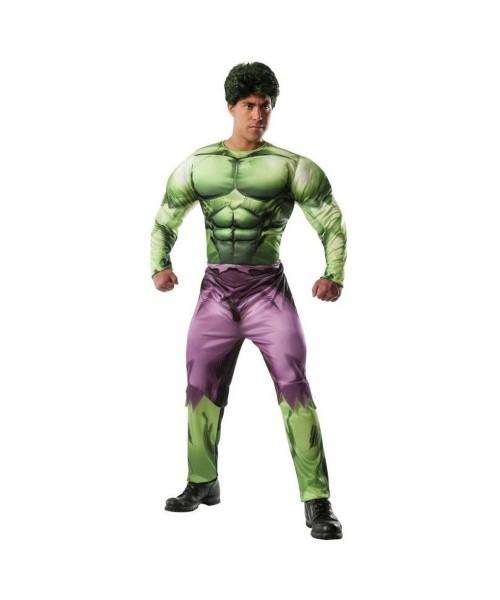 Marvel Classic Incredible Hulk Mens Costume