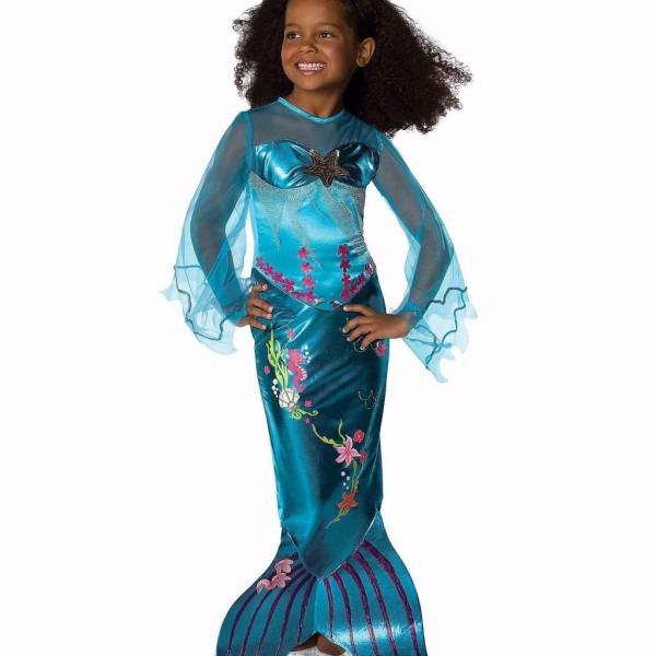 Mermaid Halloween Costumes For Kids