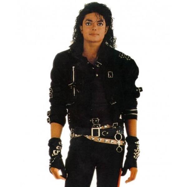 Bad Michael Jackson Black Leather Jacket – Zeemam