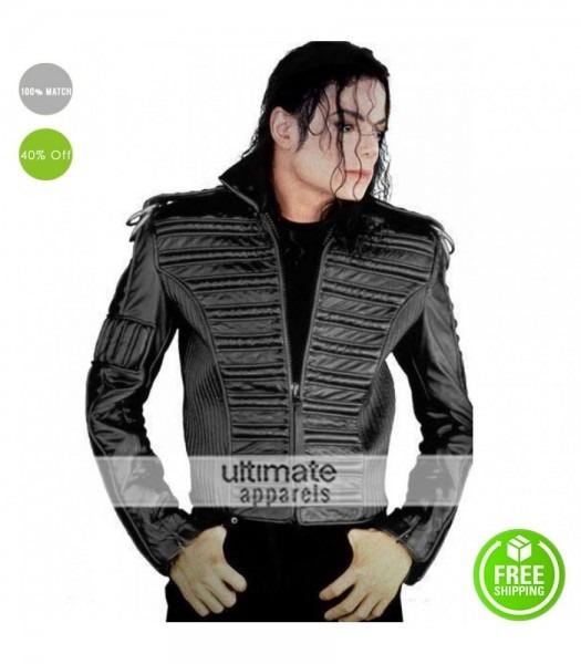 Michael Jackson Man In The Mirror Black Jacket