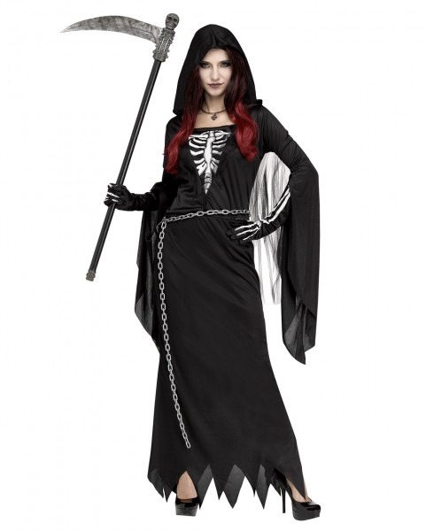 Midnight Reaper Woman Costume For Halloween