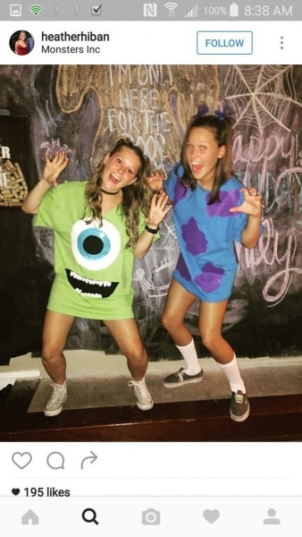 Mike And Sully Monsters Inc Costumes Best Party Supply Types Of Sully