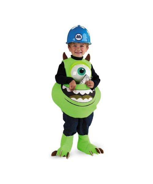 Monsters Inc  Mike Wazowski Kids Disney Costume