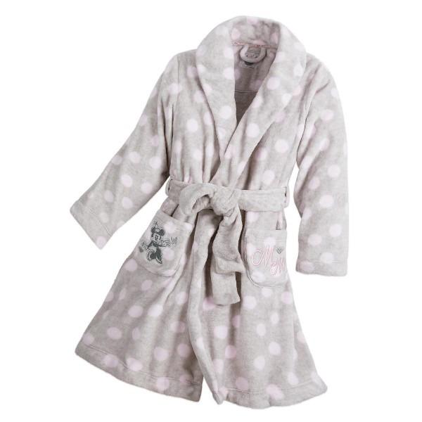 Minnie Mouse Plush Robe For Women