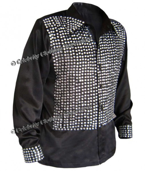 Improved! Mj Billie Jean Motown Shirt (with Crystals!) Pro