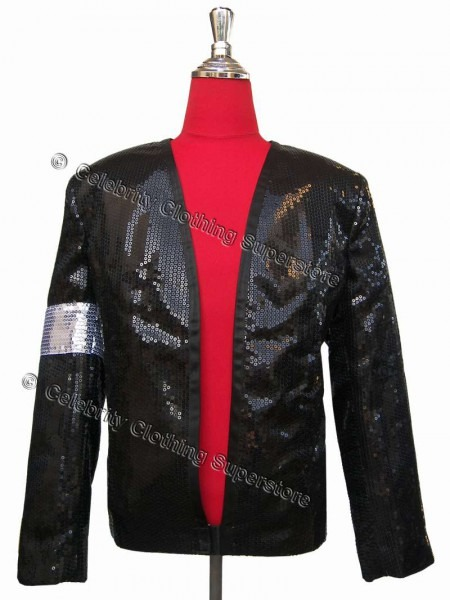 Mj Billie Jean Sequined Jacket