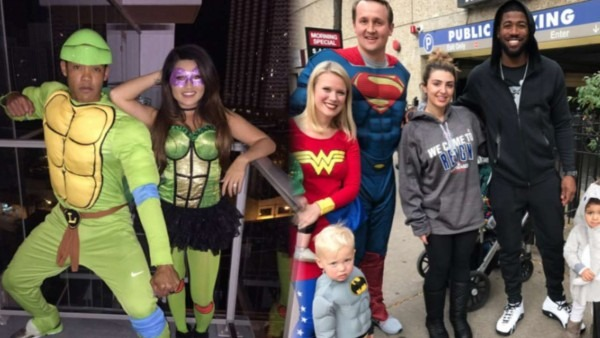 Cubs Wear Halloween Costumes On World Series Trip To Cleveland