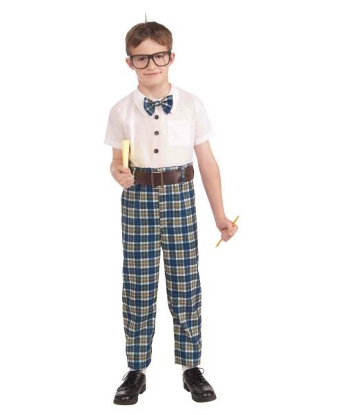 Class Nerd Boys Costume