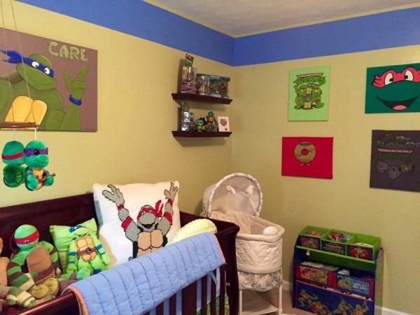 Amazing Ninja Turtle Playroom Ideas