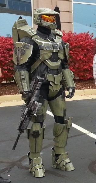 Parts And Krafts   Halo 4 Master Chief Costume, Make Halo Costume
