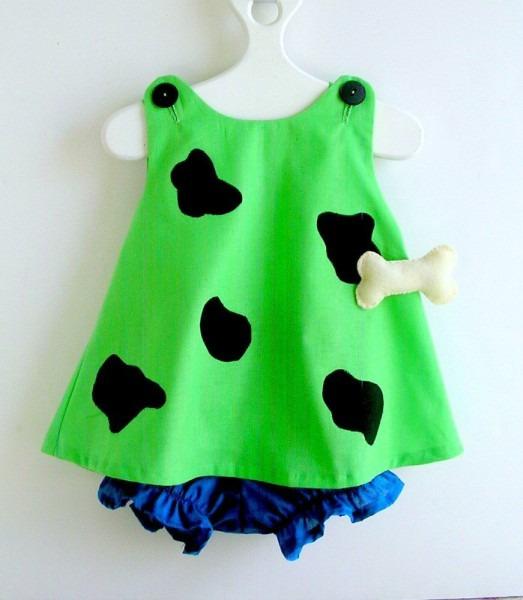 Flintstones 'pebbles' Baby Costume