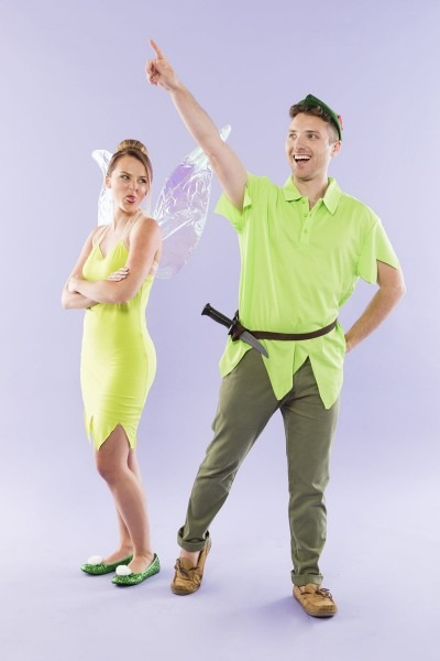 Never Grow Up With This Diy Peter Pan And Tinkerbell Couples