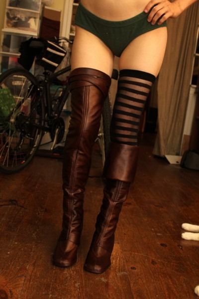 Pirate Girl Boots Wip