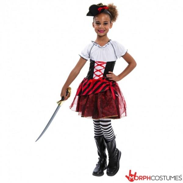 Kids Girl's Pirate Wench Costume