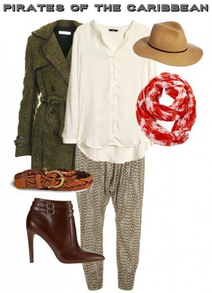 Outfit Inspiration  Priates Of The Caribbean