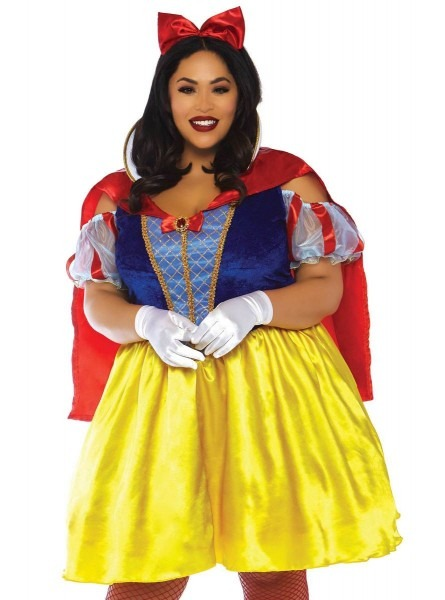 Plus Size Sexy Snow White Costume For Women  The Coolest
