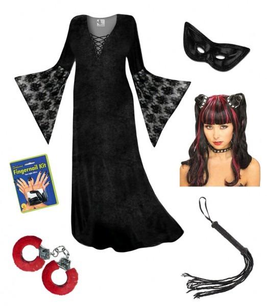 Plus Sizelloween Costumes 4x 5x Sale Dominatrix Costume Lg Xl 1x