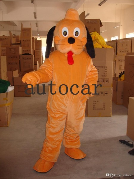 Pluto Dog Mascot Costumes For Adults Christmas Halloween Outfit