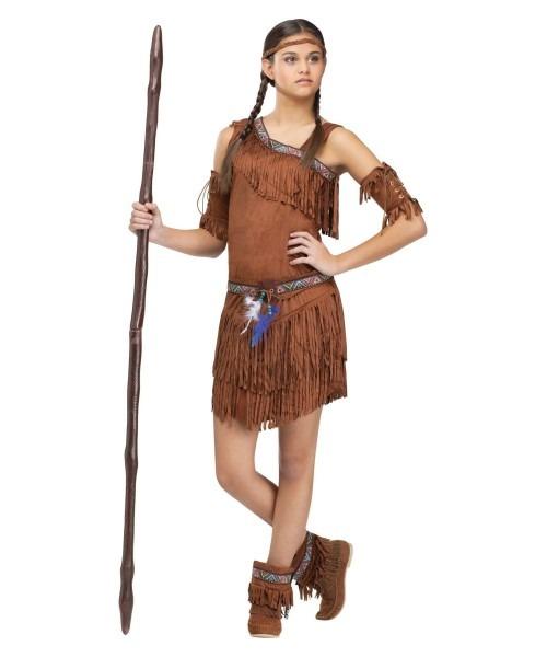 Pow Wow Indian Teen Costume