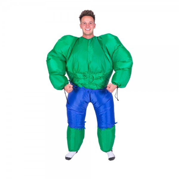 Purim Inflatable Hulk Costume Halloween Carnival Party Full Body