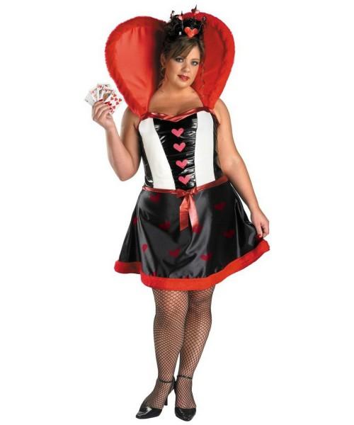 Queen Of Hearts Plus Size Disney Costume