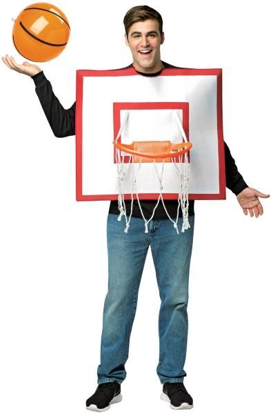 Basketball Backboard Adult Costume