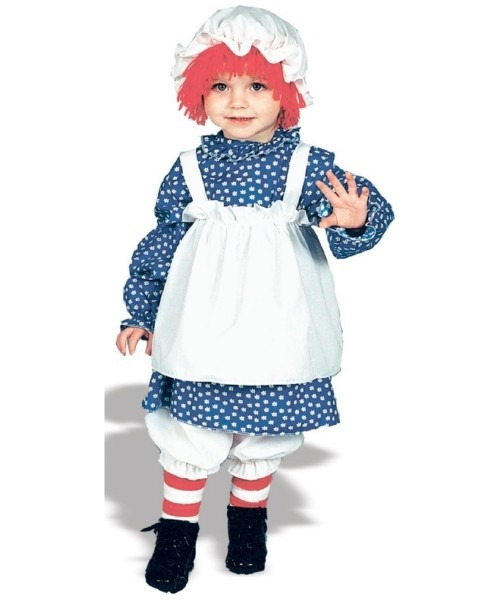 Raggedy Baby Ann Halloween Costume