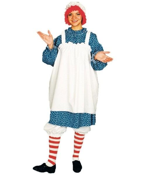 Raggedy Ann Halloween Adult Costume