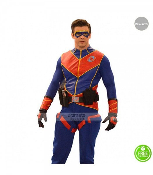Ray Manchester Captain Man Costume Jacket