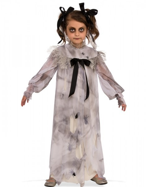 Sweet Screams Girls Zombie Ghoul Demon Child Halloween Costume