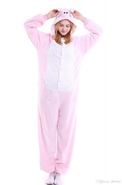 Unisex Onesie Halloween Costume Adult Animal Cosplay Pajamas