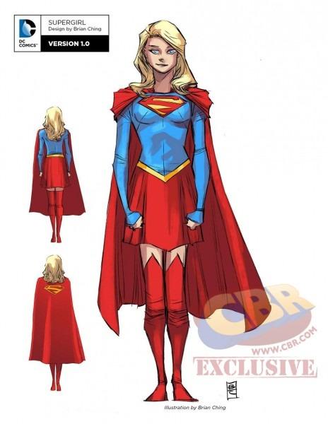 Supergirl Comic Box Commentary  Supergirl Rebirth Costume Design