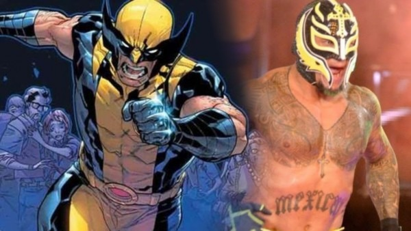 Rey Mysterio Wears Wolverine Costume For All In