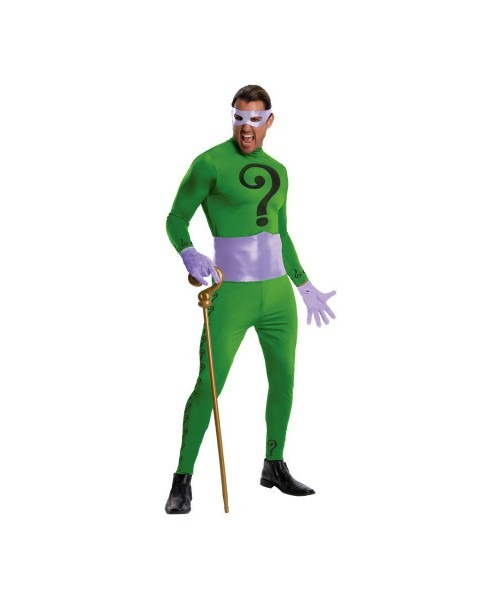 Adult The Riddler Halloween Costume