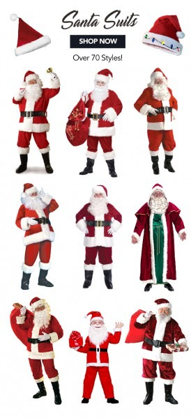Costume Supercentre Canada  25  Off Sitewide Including Santa Suits