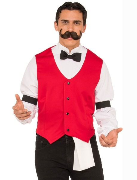 Wild West Bartender Men's Costume
