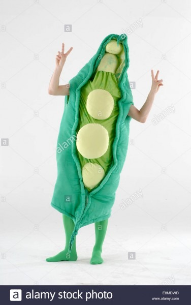 Runner Bean   Peas In A Pod Fancy Dress Comedy Costume Could Be